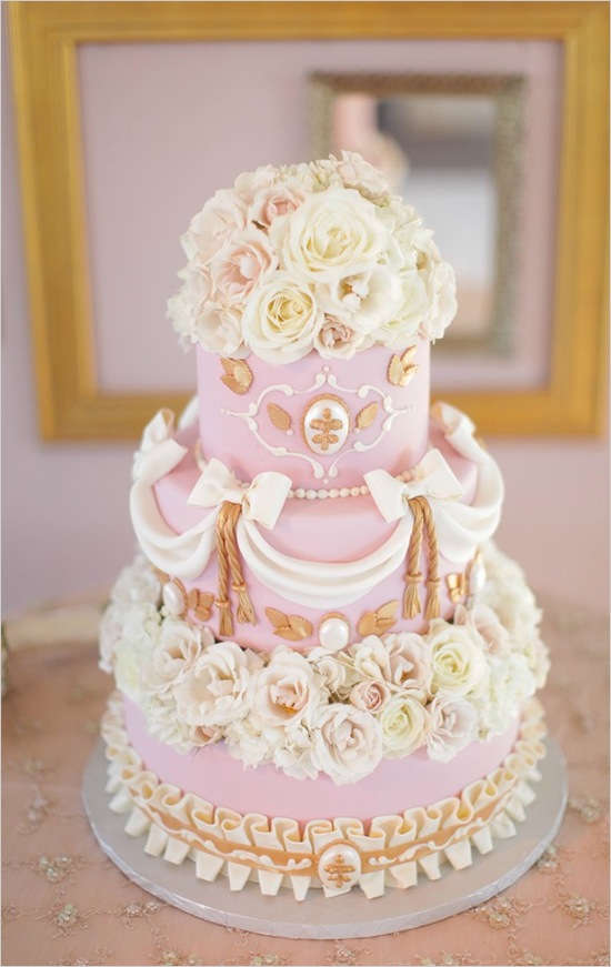 Valentine Pink Wedding Cake Ideas Hot Chocolates Blog