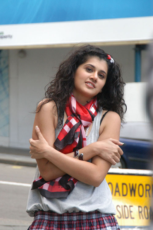 Tapsee Latest Stills From Mr Perfect Telugu Movie 