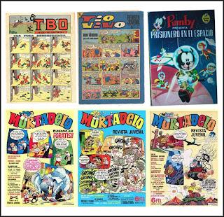 Revistas infantiles de los 60