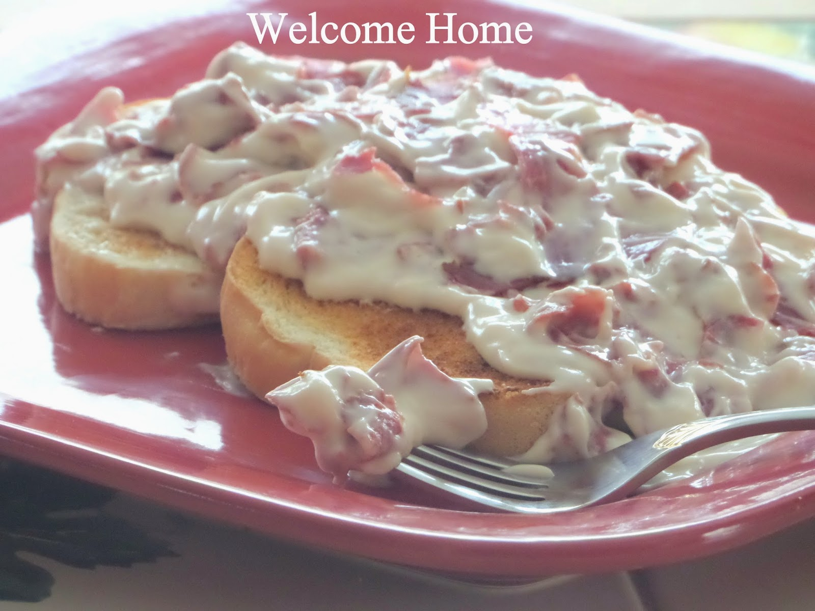 Creamed Chipped Beef Over Mashed Potatoes i Love Creamed Chipped Beef