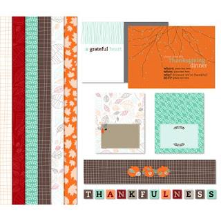 Grateful Heart Ensemble Digital Download Template Kit