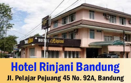 Hotel Rinjani Bandung Terbaru