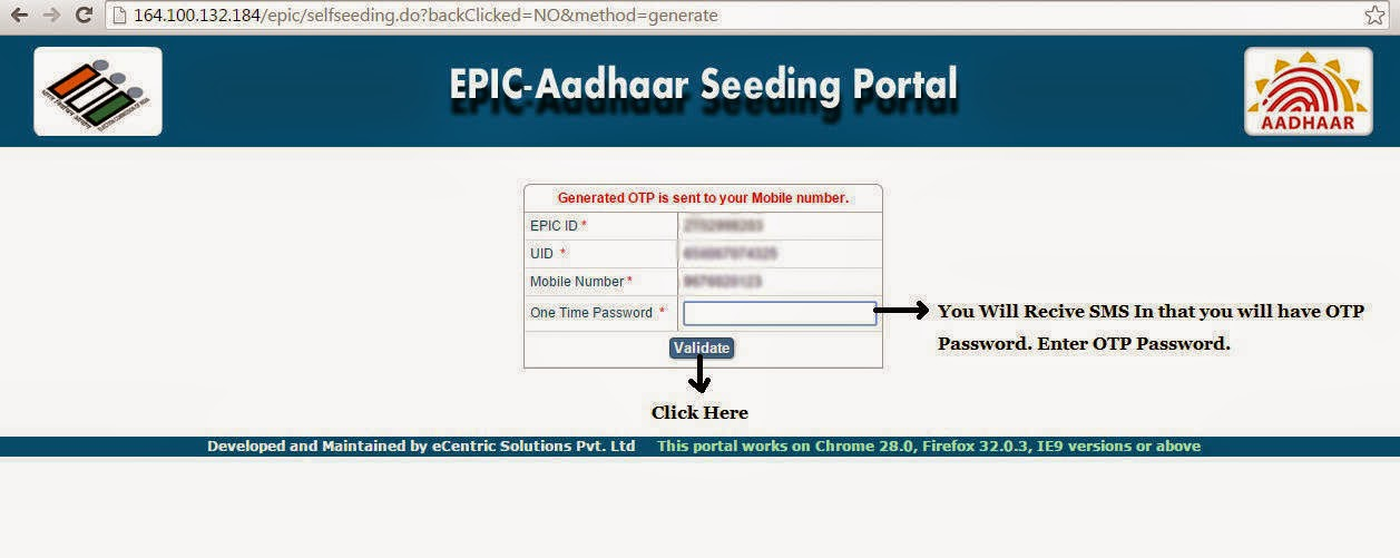 Aadhaar Card Linking with Voter ID Card election commission of India