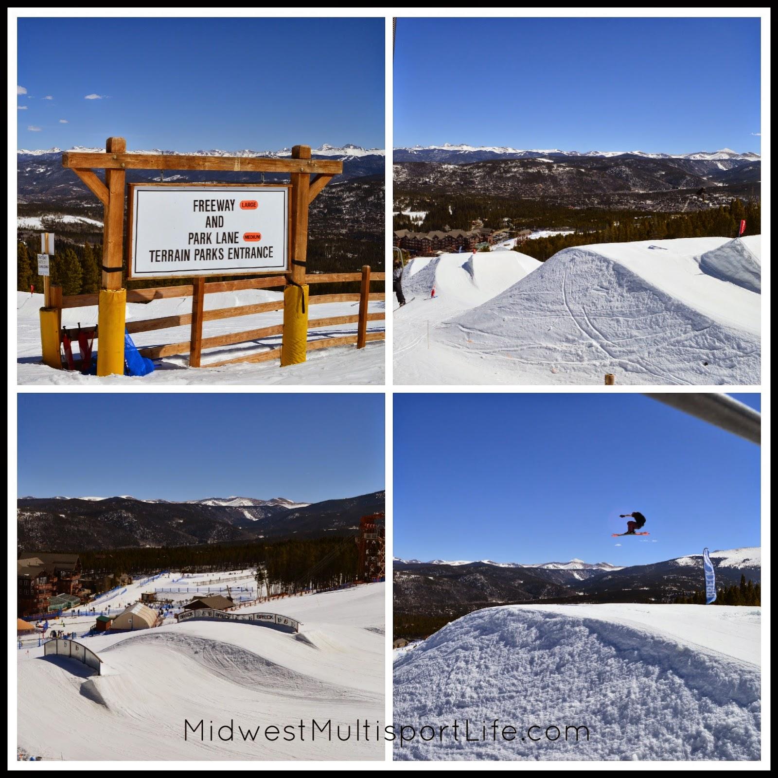 Breckenridge Ski Resort Terrain Parks