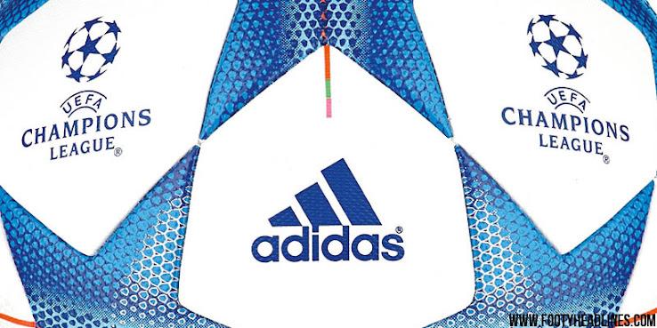 Nueva pelota adidas que se usará en la próxima Champions League
