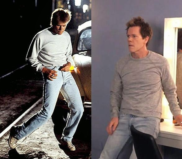 Kevin Bacon, The Tonight Show, Jimmy Fallon, Footloose, Kevin Bacon Dances