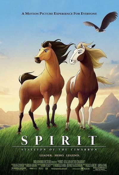 Los animalillos de las películas de animación (XXXI). Spirit