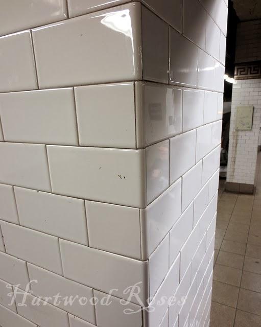 Hartwood Roses Real New York Subway Tile