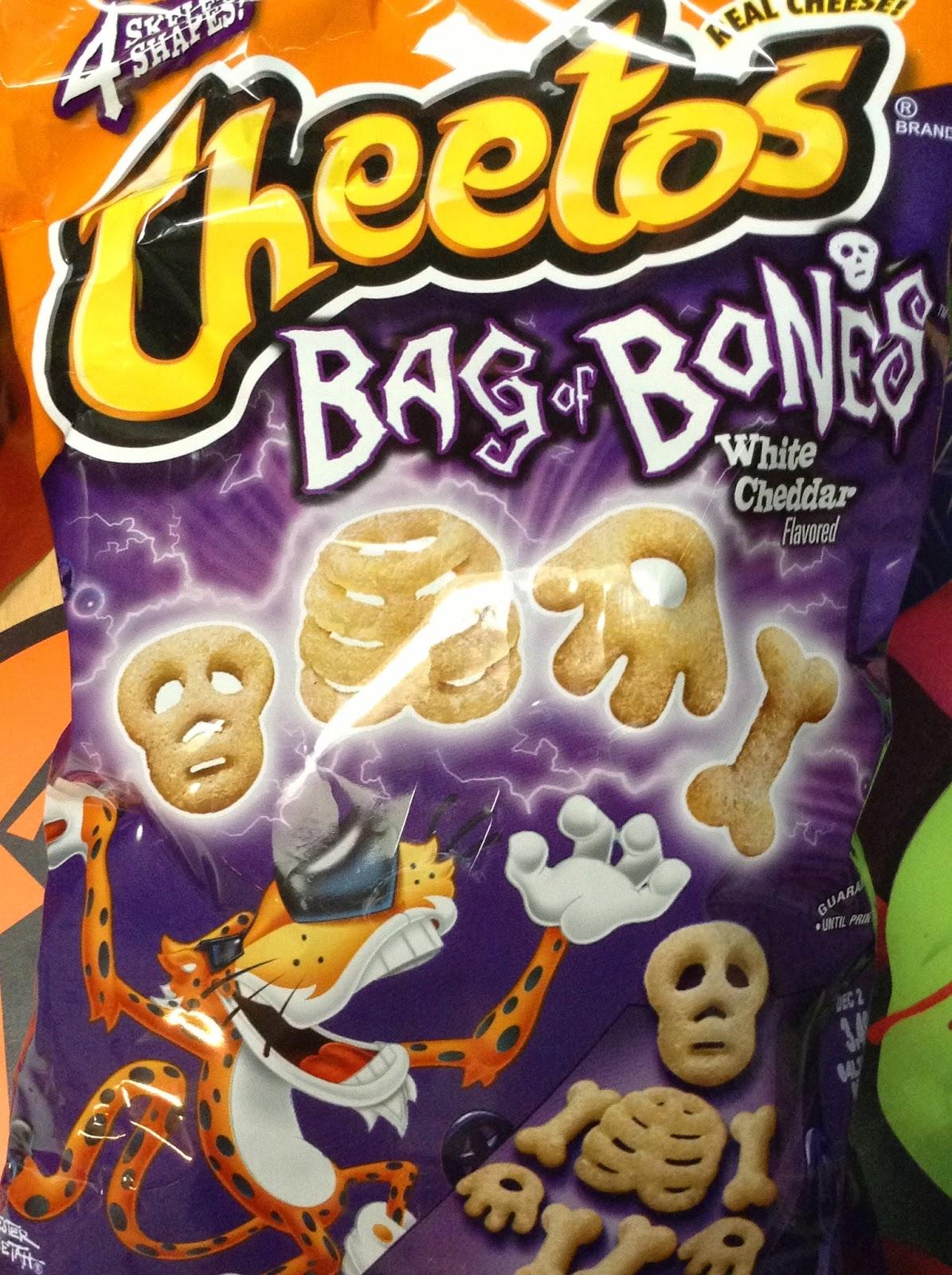the holidaze cheetos bag of bones