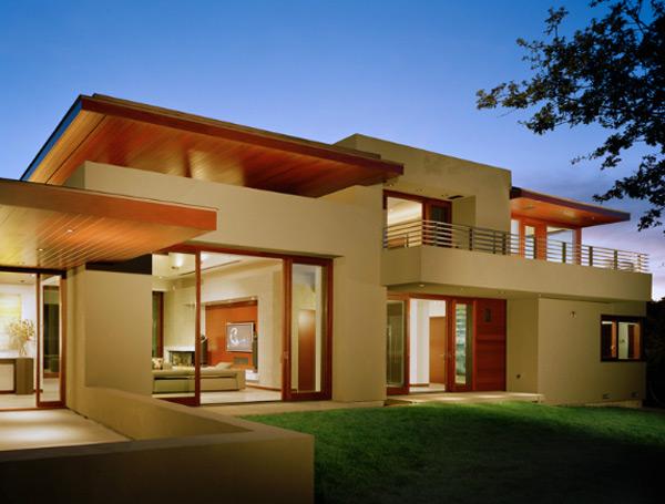 Model Desain Minimalis Modern Rumah Gaya Eropa