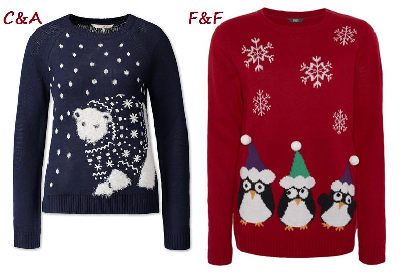 swetry świąteczne