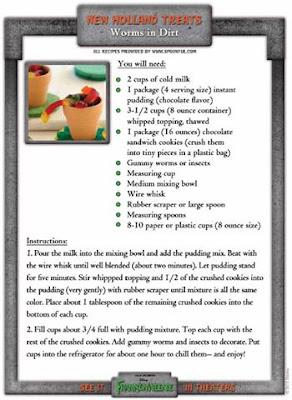Frankenweenie recipes