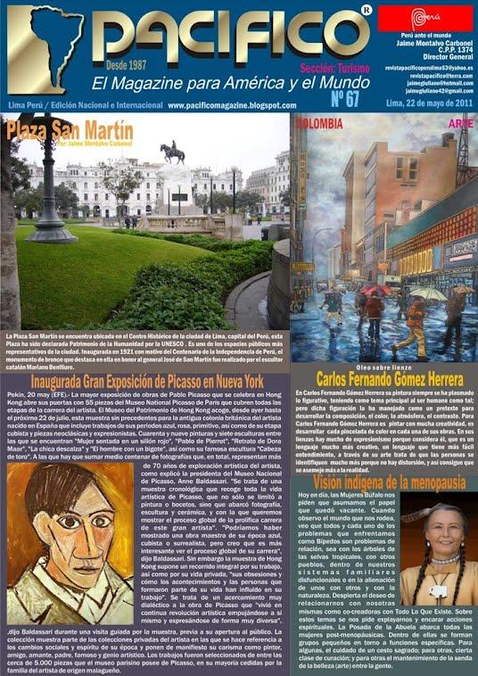 Revista Pacífico Nº 67 Turismo