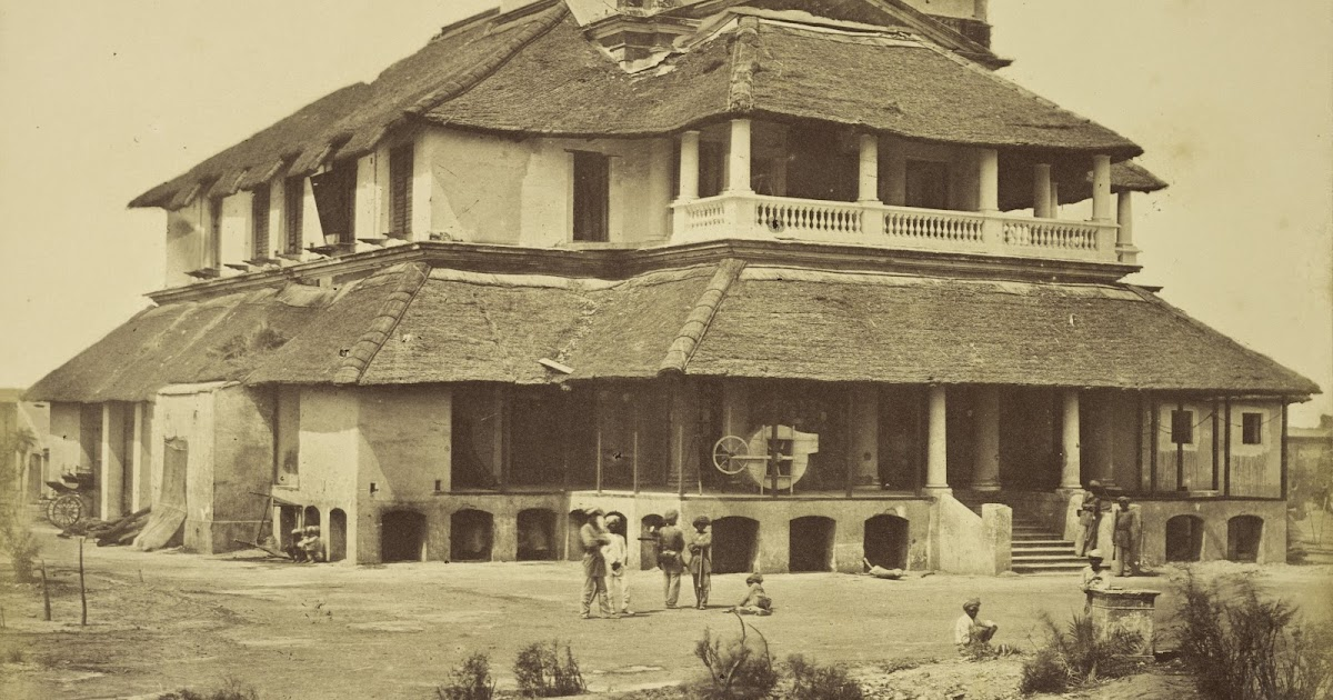 Major banks 39 house lucknow c1858 old indian photos for Architecture design for home in lucknow