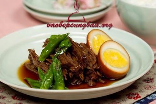 Cách làm thịt bắp bò kho kiểu Hàn
