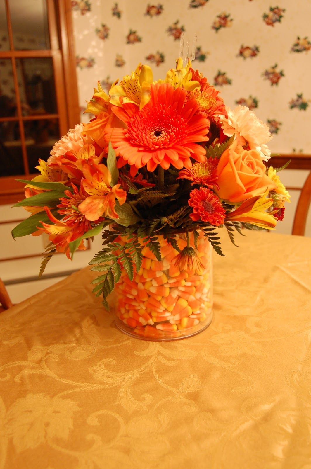 Steves 2 cents birthday flowers the flowers delivered to dolores for her birthday izmirmasajfo