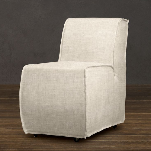 Restoration Hardware Bruno Upholstered Dining Chair