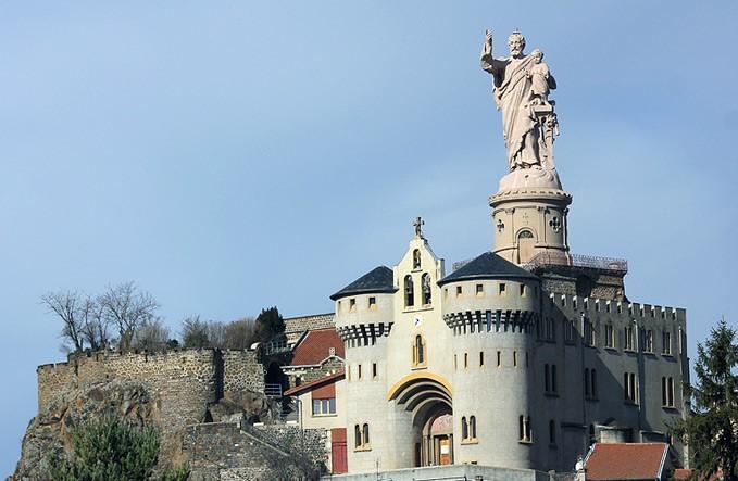 Statue Saint-Joseph-de-Bon-Espoir d'Espaly