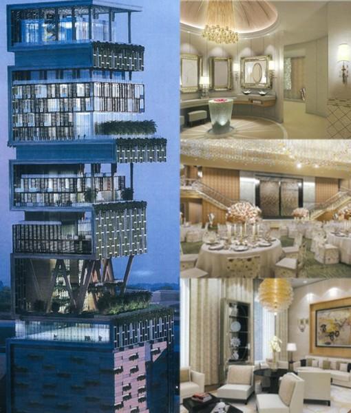 Antilia house La casa más cara del mundo
