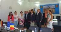 Treffen mit dem rumänischen Ombudsmann Ionel Oprea in Hermanstadt/Sibiu. Foto: Landtag M-V