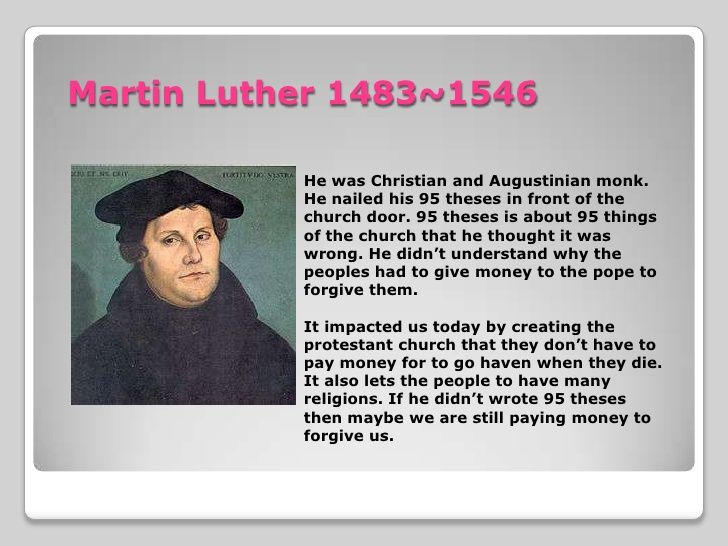 list of 95 theses of martin luther