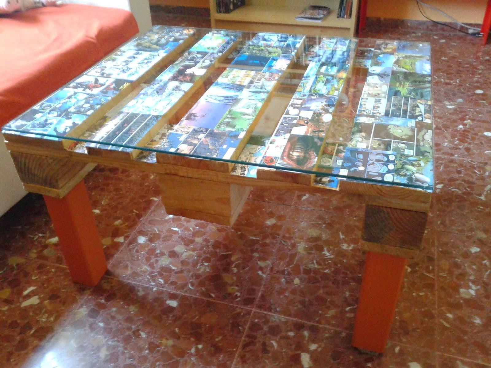 mesa comic artesanal JURALOPORMI