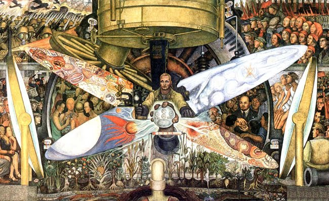 Reading comprehension for esl students diego rivera the for Diego rivera rockefeller center mural