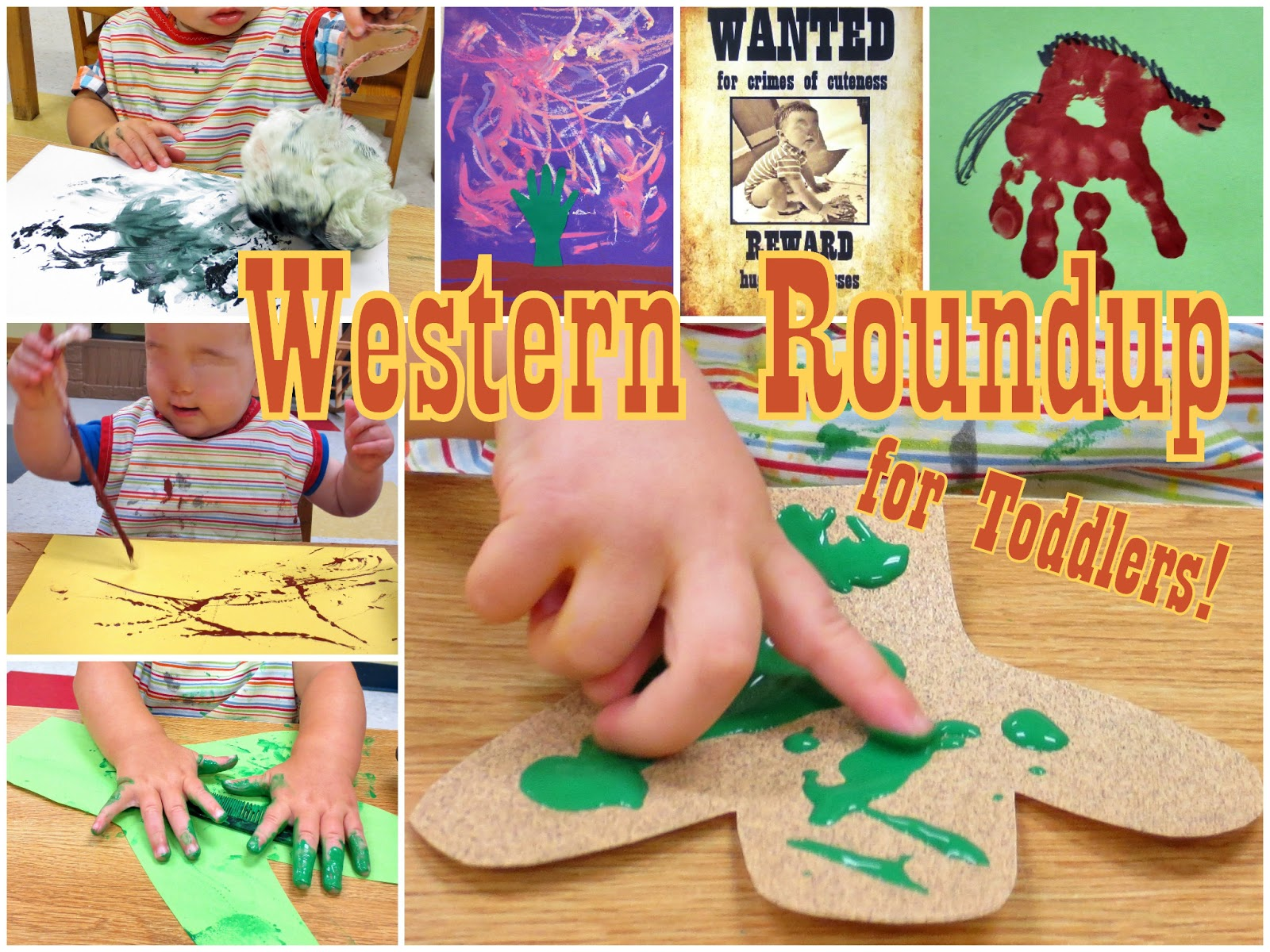 Western arts and crafts - Hool Pizzazz Western Roundup For Toddlers