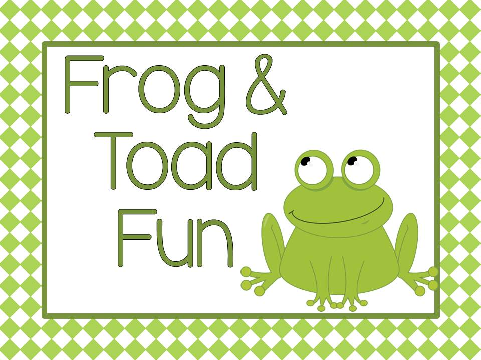 Fern Smith's Classroom Ideas Frog and Toad Resources.
