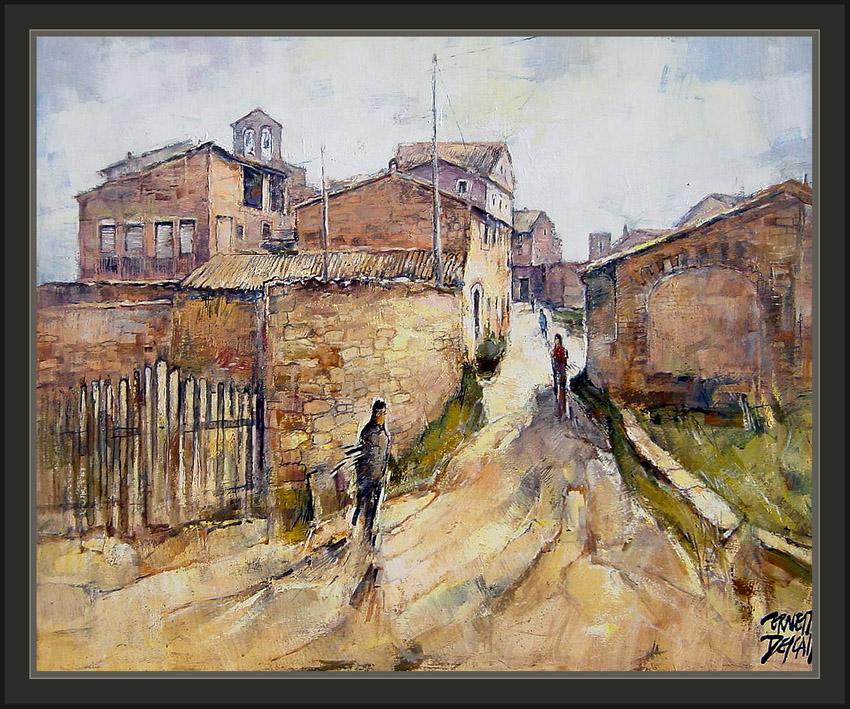 Cuadros ernest descals pinturas salelles pintura pobles - Trabajo de pintor en barcelona ...