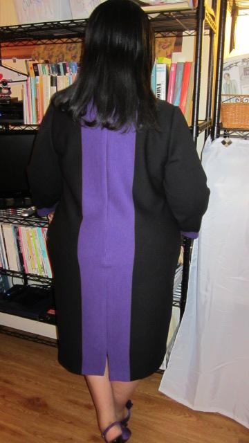 Chado Ralph Rucci wool double knit dress fabric