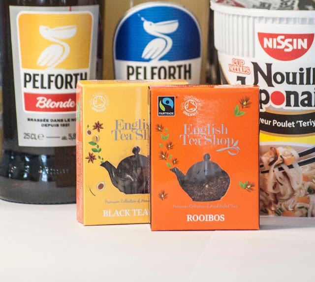 thé noir, rooibos, english teashop, pause, degustabox, box, alimentaire