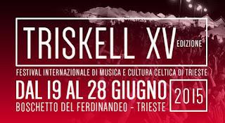 Triskell Celtic Festival Trieste 2015