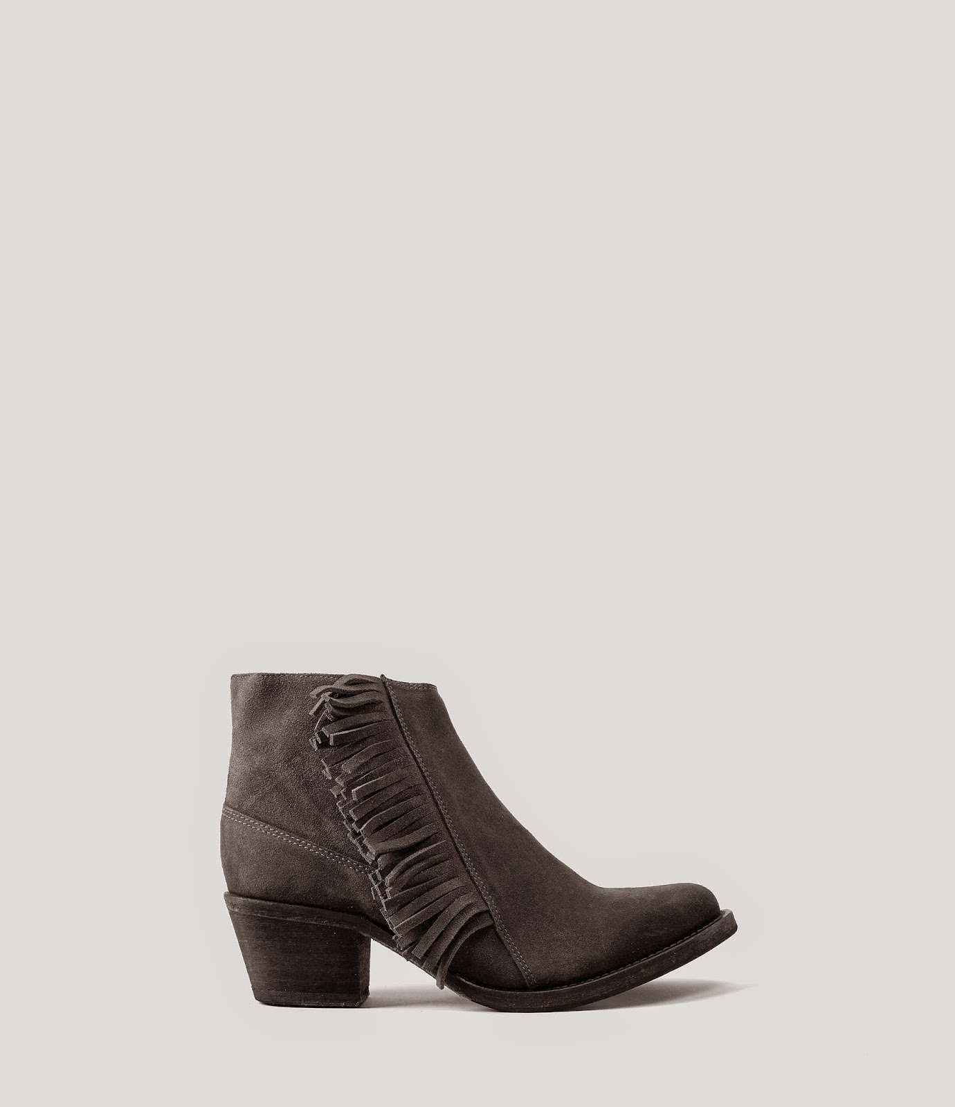 all saints grey ankle boots