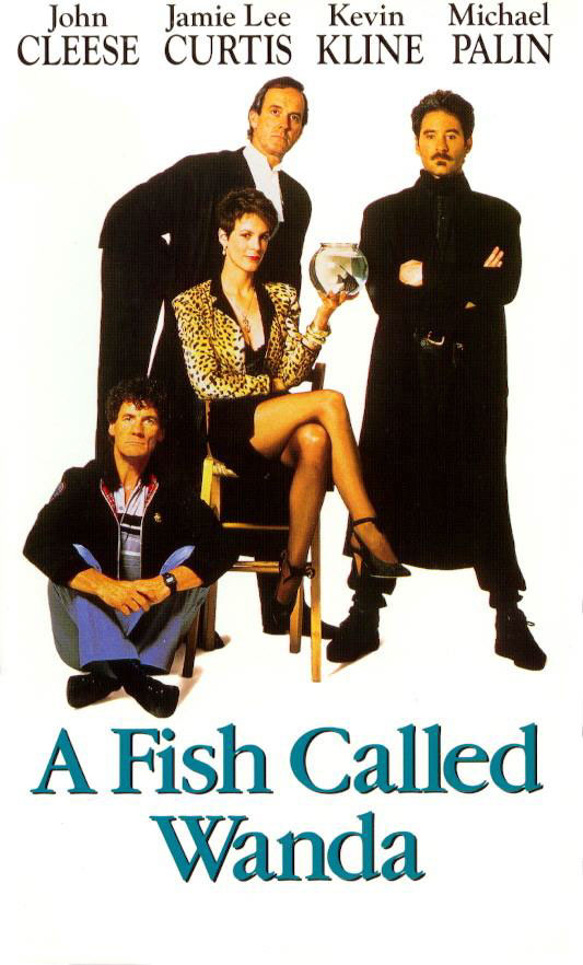 On page and screen a fish called wanda 1988 for Fish called wanda