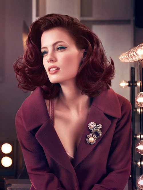 Natural Burgundy Hair Color For Stylish Women Health And