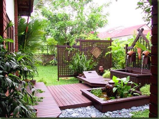 taman rumah minimalis gaya jepang