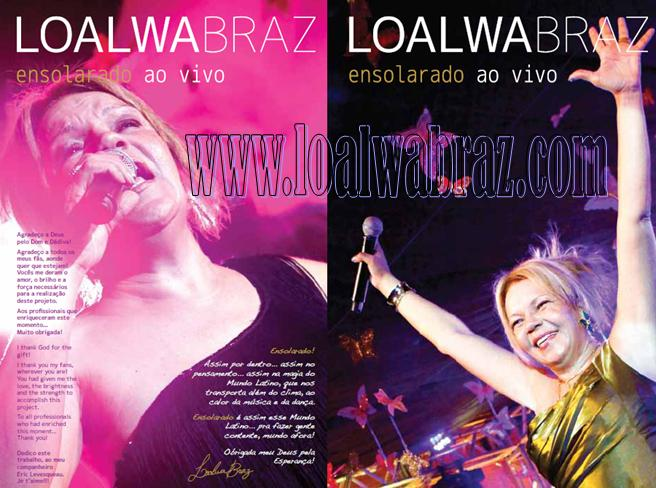 "LOALWA BRAZ 2011 LAMBADA ""CHORANDO SE FOI"""