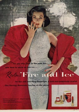 1950s Revlon ad Just Peachy, Darling