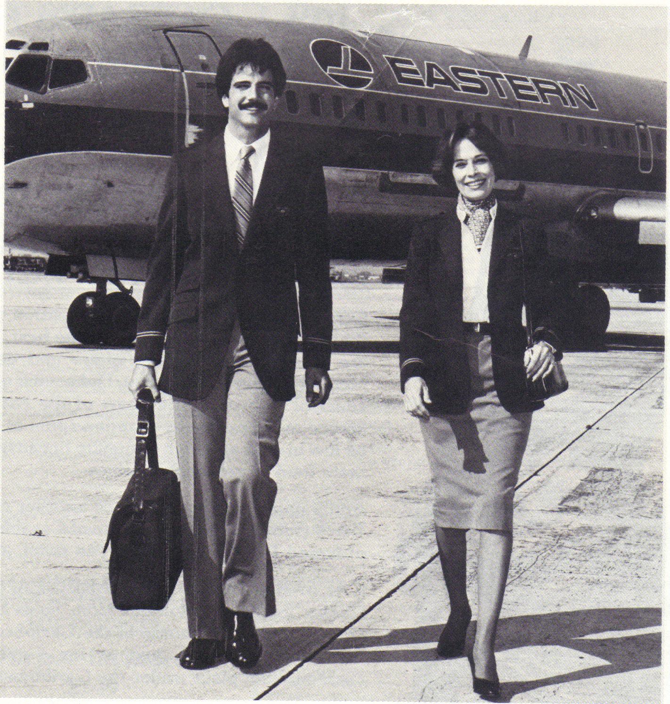 Eastern Airlines Stewardess Flight Attendant Brochure