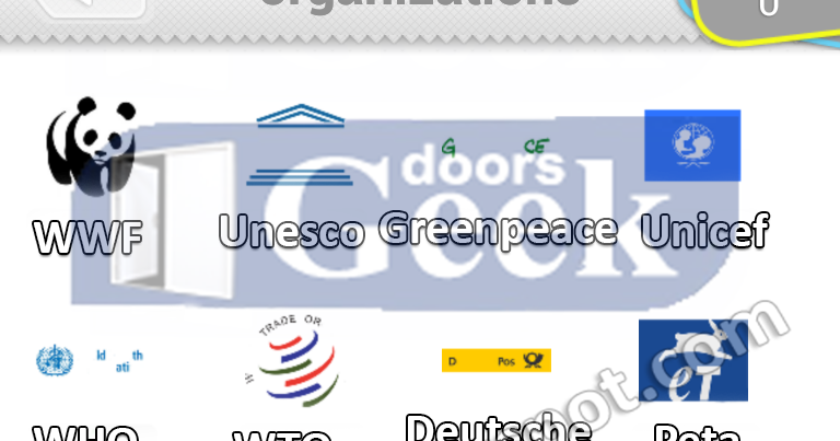 ultimate logo quiz level 9 organizations doors geek
