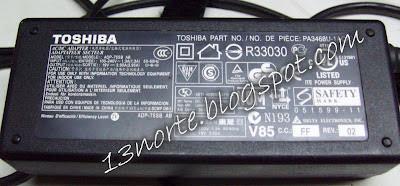 Adaptador Toshiba Satelite ADP-75SB AB