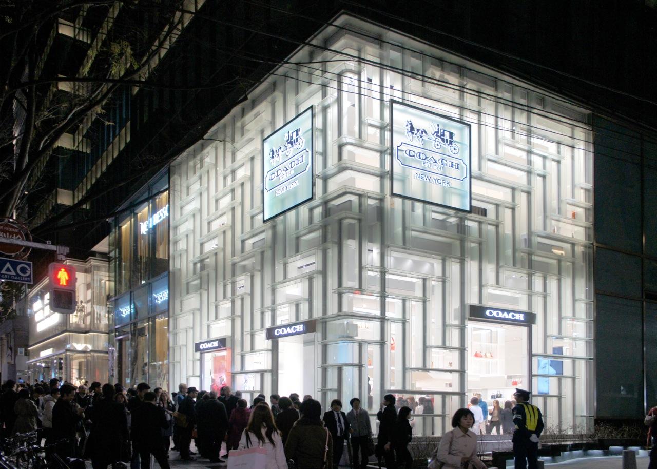 Japan Architects Com Omaの重松象平による「コーチ表参道」