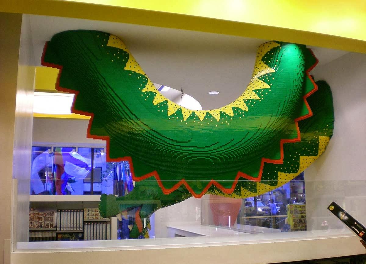 Lego store, Rockefeller Center, Nueva York