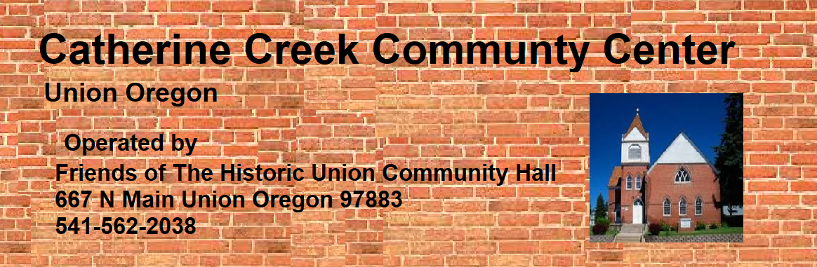 Catherine Creek Community Center/Historic Union Community Hall