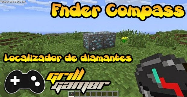 Finder Compass Mod Para Minecraft 1.8.1/1.7.10/1.7.2/1.6.4/1.6.2