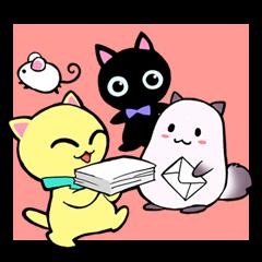猫のレイちゃん 勉強と仕事で便利セット