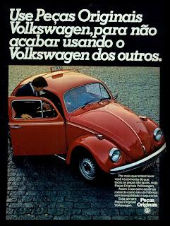 propaganda peças originais Volkswagen - 1978. propaganda anos 70. propaganda carros anos 70. reclame anos 70. Oswaldo Hernandez.