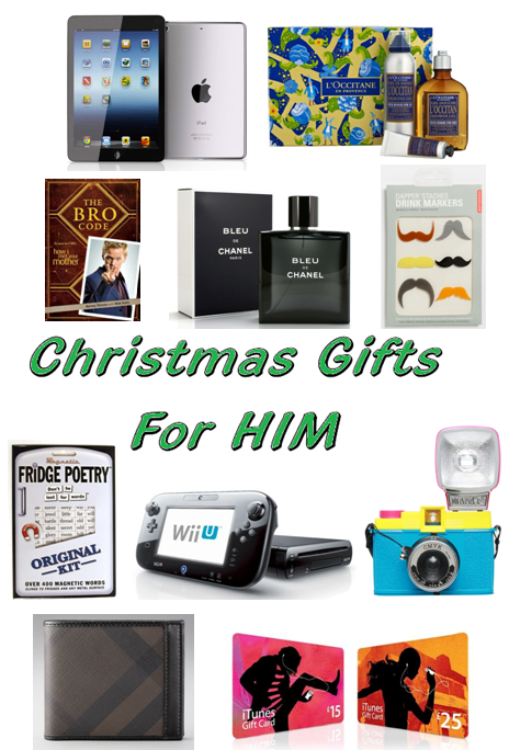 Christmas Gift Guide For Him Christmas Gifts For Him 2012