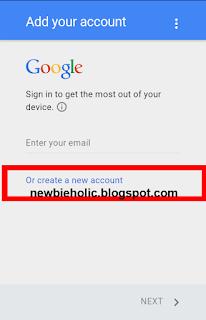 membuat email buat baru